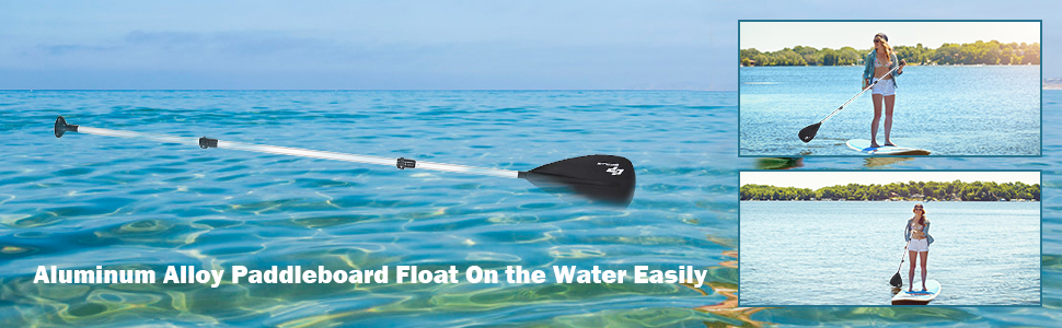Aluminum Alloy Paddleboard Float On the Water Easily