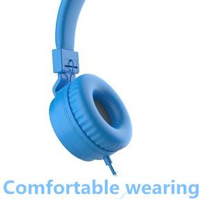 kids headphones blue