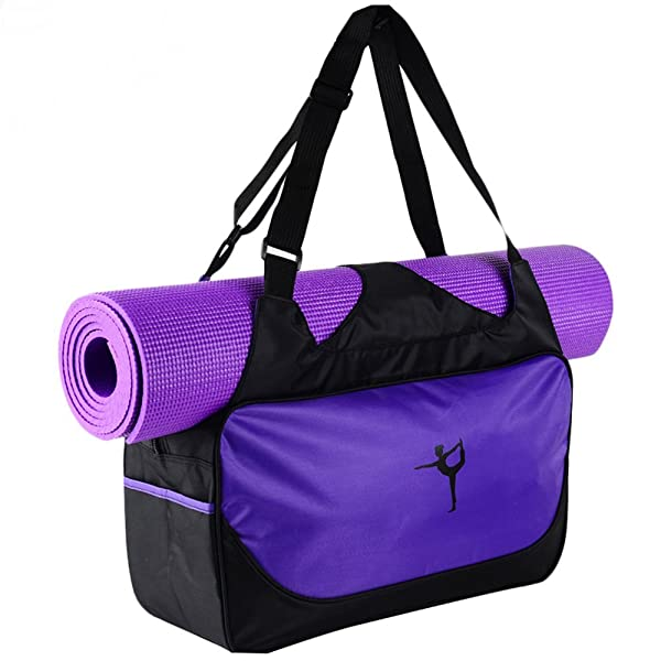 Amazon.com : Faswin Yoga Mat Tote Bags (Green) : Sports