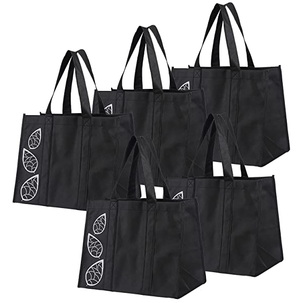 Amazon.com: Bekith 5 Piece Large Collapsible Shopping Bags Set ...