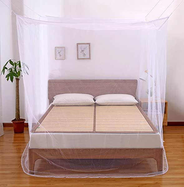 Uteruik Mosquito net Folding Free Installation Ceiling Fashion Generous Mosquito net Bed Mosquito net Double Bed Blue