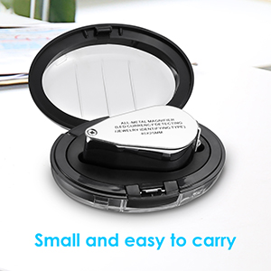 portable jewelry magnifier