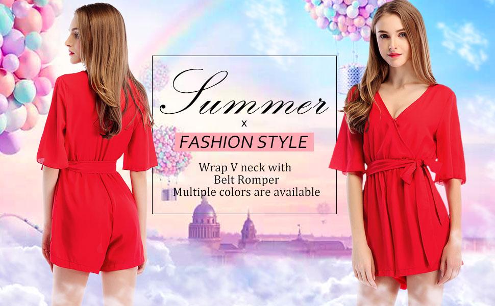 summer shorts romper