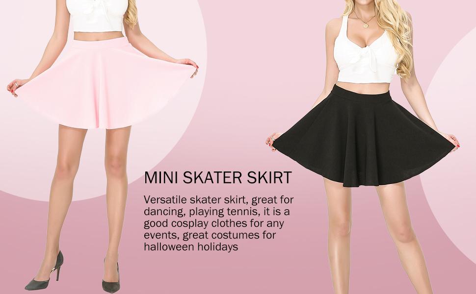 Skirt Women Skater Skirt Womens Skater Skirt Camo Dance Skirt Pretty Girls Fashion Skirt Camouflage Skater Dress Cute Skater Skirt