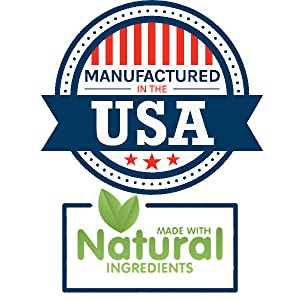 manufactured in the usa made with natural ingredients