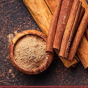 organic ceylon cinnamon sticks and powder
