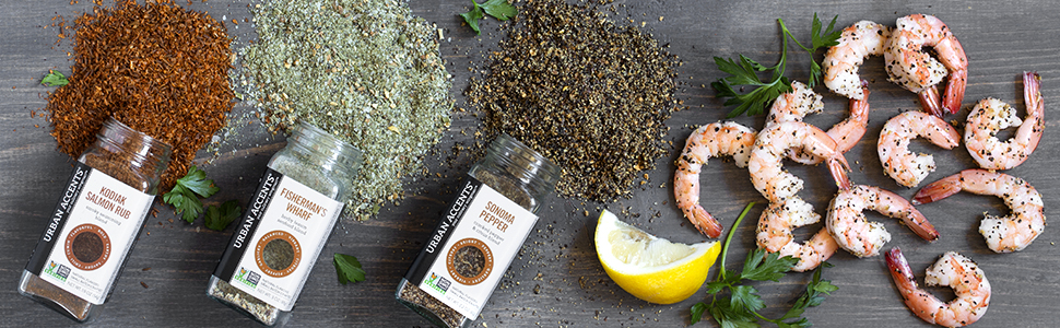 seasoning salmon for a fisherman seafood set spice gift and seasonings gourmet collection blends