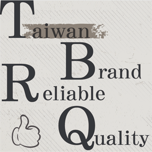 it is written: Taiwan Brand, reliable quality