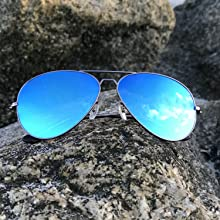 Shady rays polarized aviators sunglasses for women and men