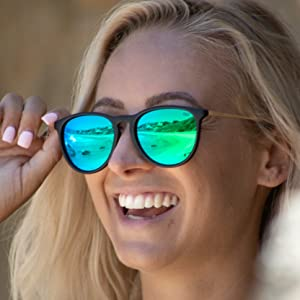 40a3d64facb Amazon.com  Shady Rays Polarized Sunglasses for Women 24K Affair ...
