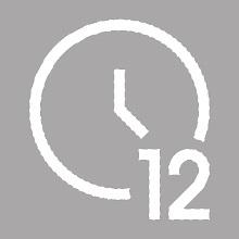 12 HOUR CLOCK MODE