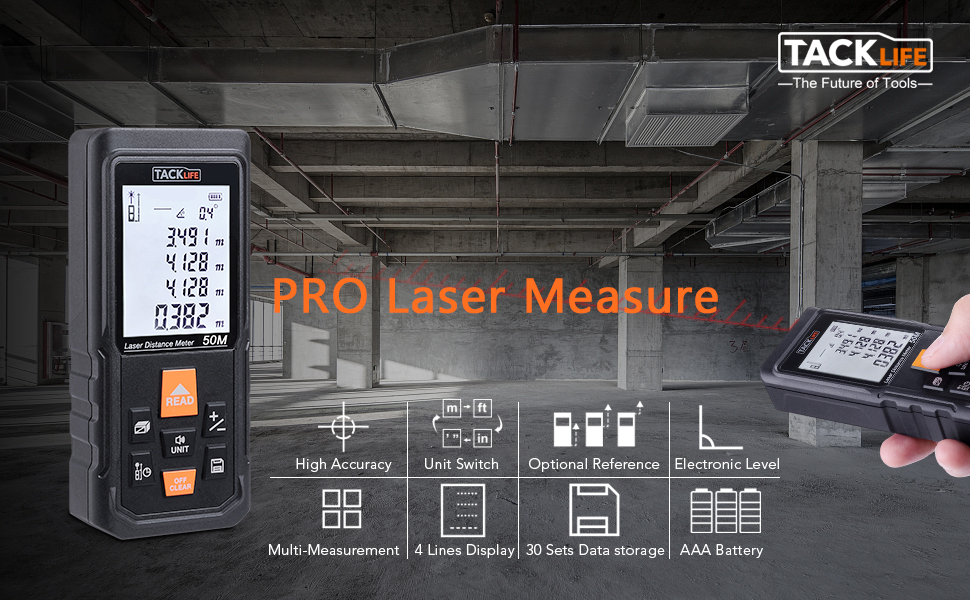 Tacklife Updated PRO Laser Measure
