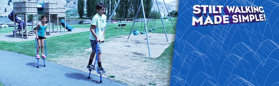 Walkaroo Stilts Stilt walking made easy by Geospace