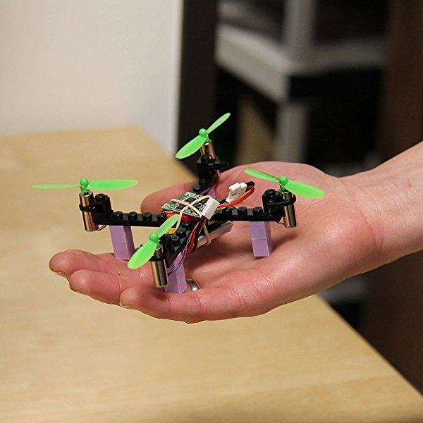 Amazon kitables lego rc drone kit build and fly your very own the kitables lego drone your complete diy drone kit solutioingenieria Images