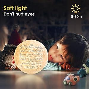 Moon Light 3D for Daughter