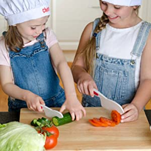 starpack kids knife set curious chef cooking tools for kids lettuce knife nylon picnic