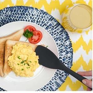 silicone cooking utensils,silicon kitchen utensils silicon utensils,spatula turner set black kitchen