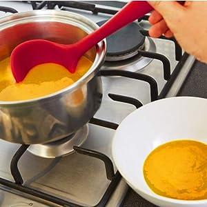 ladle, silicone ladle,punch bowl ladle ladle set, skimming ladle, plastic ladle nylon ladle