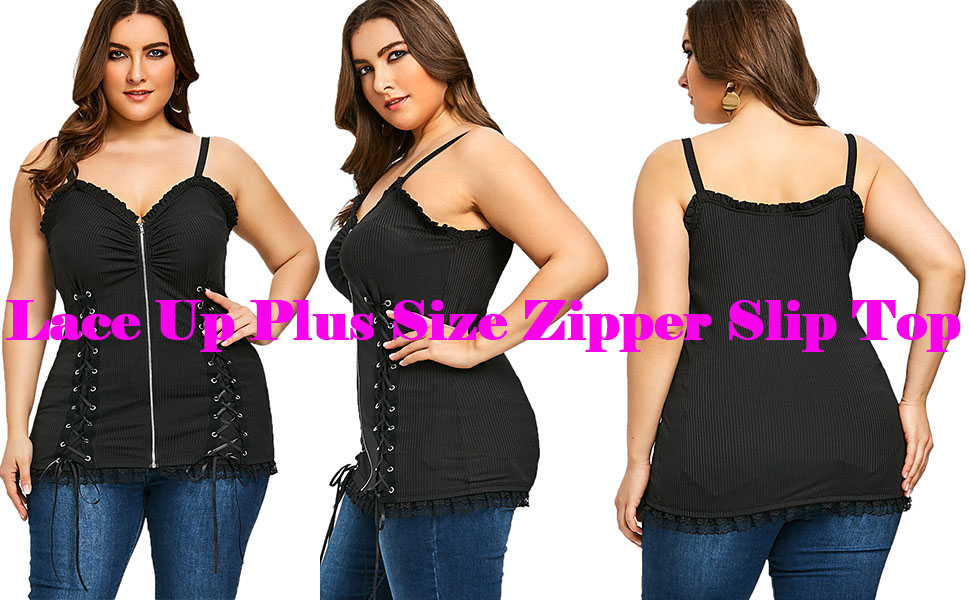 3825d595e2 The fashion punk style slip top shows your wild side and fits your upper  body line very well ...