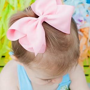 "girly ribbon fashion ribbon fashion hair love pink ribbon bow fashionista VS 1/"""