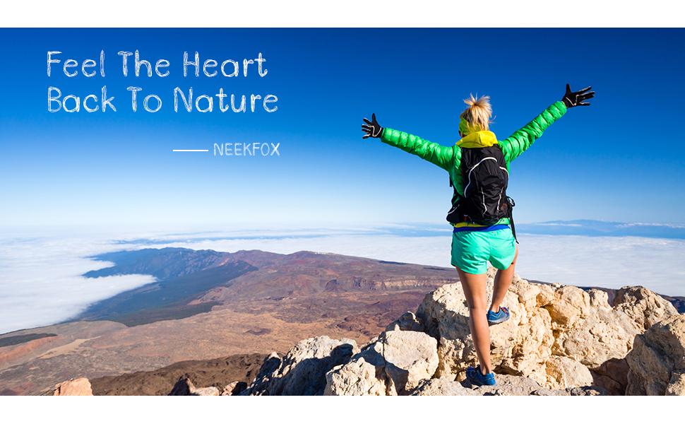 NEEKFOX Lightweight Packable Hiking Daypack