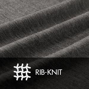 Rib-knit