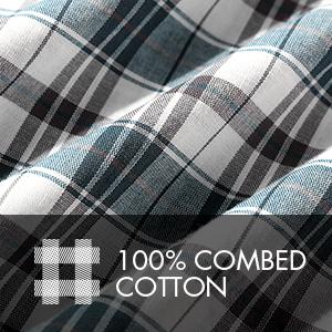100% COMBED COTTON