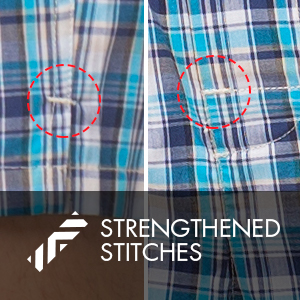 Strengthened stitches