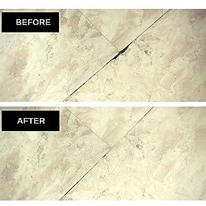 and Ceramic Tile /& Marble//Granite Countertop Repair MagicEzy Stone Fix Black