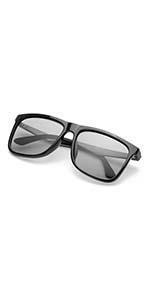 Amazon.com: TJUTR Men's Photochromic Sunglasses with