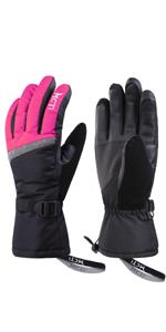 2da3bff3c Amazon.com : MCTi Waterproof Mens Ski Gloves Winter Warm 3M ...