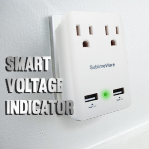 SublimeWare Multi country international Adapter 2 usb ports outlet fast charge
