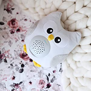 Amazon Com Bubzi Co Baby Toys Owl White Noise Sound