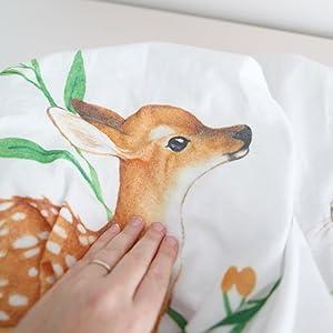 bubzi co baby monthly milestone blanket woodland nursery decor baby shower gift new parent gift mom