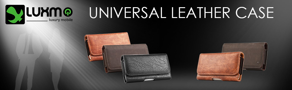 universal leather holster pouch