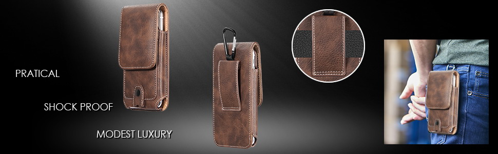 LEATHER HOLSTER POUCH CASE