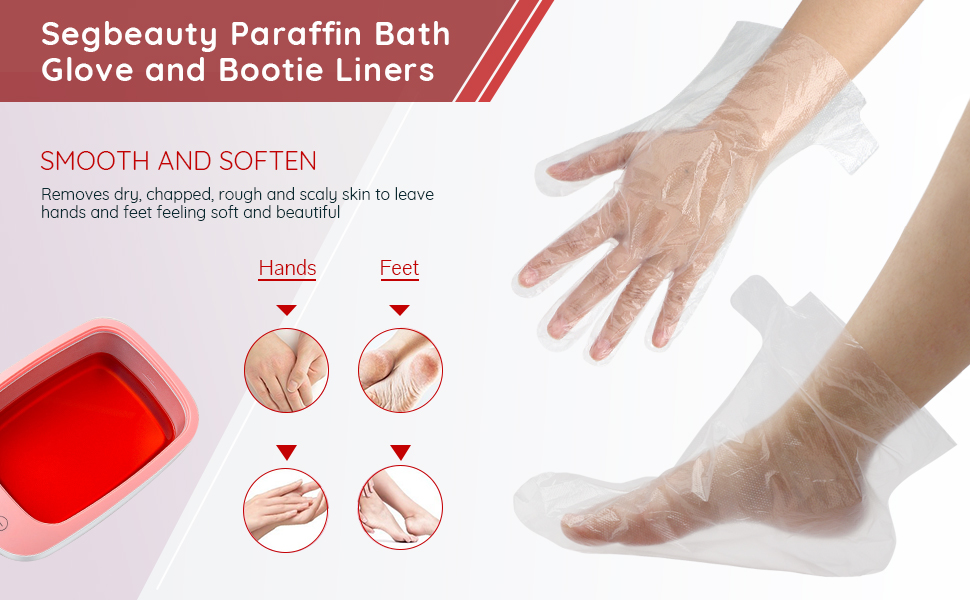 Segbeauty Paraffin Bath Glove and Bootie Liners