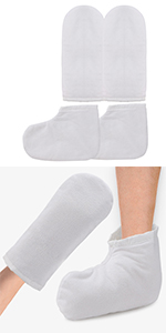Segbeauty Paraffin Wax Bath Gloves and Booties