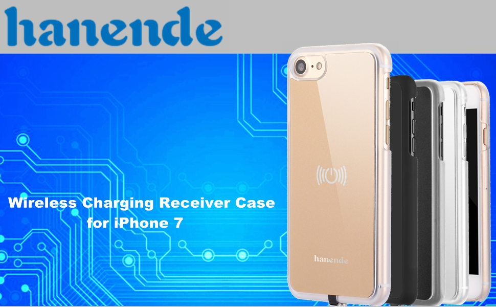 Amazon.com: Wireless Receiver Case for iPhone 7,hanende Qi ...