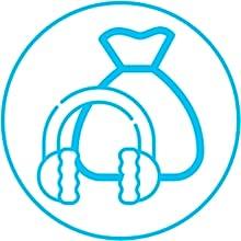 portable with bag earmuff