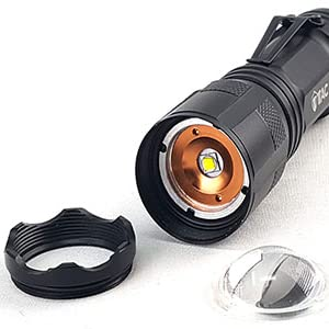 flashlight led light cree bright light outdoors camping hiking fishing lumen light