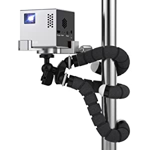 RIF6 Cube with TriPod Mount to Use Anywhere for Work or Home Pico Projector