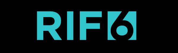 RIF6 Personal Portable Electronics Projector Logo