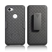 google pixel 3a xl holster, pixel 3a xl case with clip, pixel 3a xl phone case, hard case, for men