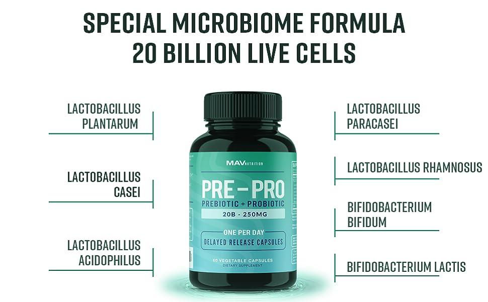 live cells bacteria
