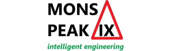 Mons Peak IX Tiger Paw 7075 Aluminum Carbon Fiber Z Trekking Hiking Poles Telescoping Folding Cork