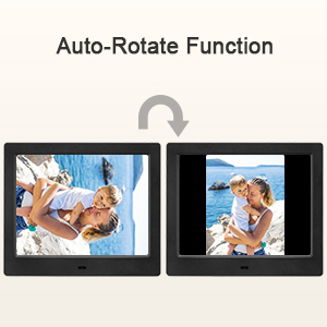 Amazon.com: MRQ Digital Picture Frame Play Photos with