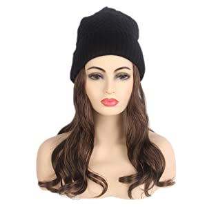 82b95c41cd1 Amazon.com  STfantasy Women Slouchy Winter Knit Beanie Hat with ...