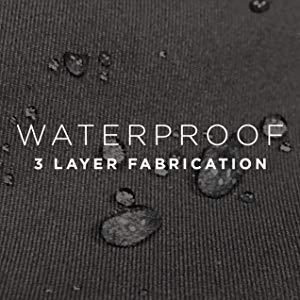 waterproof shell water resistant repelling repellent shell raincoat jacket coat 3 layer