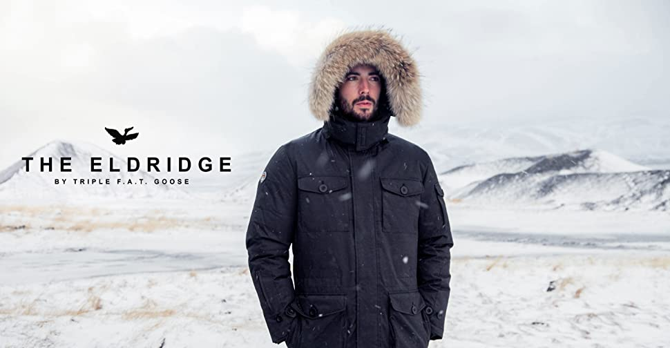 Triple F A T Goose Saga Collection Eldridge Mens Hooded